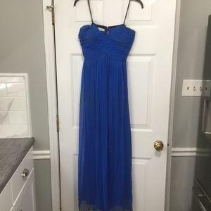 Donna Morgan Cobalt Blue Dress Size 10